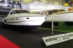 Exposition de bateau de Tuyap Istanbul Image libre de droits