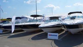 Exposition de bateaux photo libre de droits