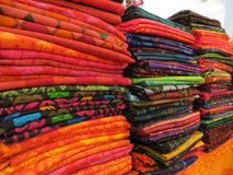 Exposition de batik à Jakarta image stock