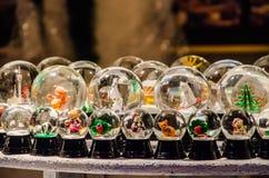 Exposition de Boule de neige Images libres de droits