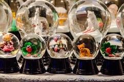 Exposition de Boule de neige Photos libres de droits