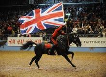 Exposition de cheval Photo stock