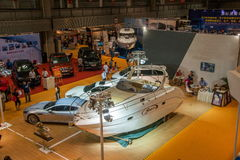 Exposition de Chongqing Leisure Products Expo sur le yacht Photo libre de droits