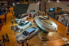 Exposition de Chongqing Leisure Products Expo sur le yacht Images stock