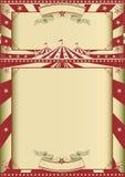 Exposition de cirque de vintage Image stock