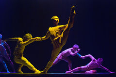 Exposition de danse de groupe   Image libre de droits