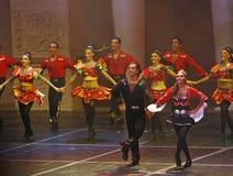 Exposition de danse folklorique Images stock