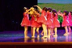 Exposition de enseignement de évaluation Jiangxi d'accomplissement d'enfants d'essai de bonne d'amis de Pékin académie de danse d Photos stock