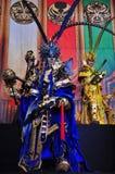 Exposition de fabrication de marionnettes de gant, le comté de Yunlin à Taïwan Photo stock