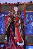 Exposition de fabrication de marionnettes de gant, le comté de Yunlin à Taïwan Photos libres de droits