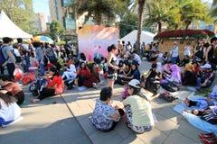 Exposition de fleur de Hong Kong 2012 Photographie stock libre de droits