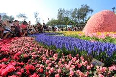 Exposition de fleur de Hong Kong 2012 Image libre de droits