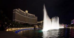 Exposition de fontaine de Bellagio Images libres de droits