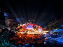 Exposition de Fox de fée de Tienmenshan Image stock