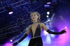 Exposition de génération de cirque de théâtre de rayonnement de glace Images stock