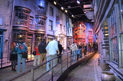 Exposition de Harry Potter, studio de Warner Bros Photos stock