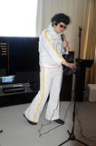 Exposition de HiF&HiEnd Moscou 2015 Elvis Presley Images libres de droits