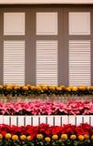 Exposition de jardin dans la flore royale 2011. Images libres de droits