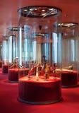 Exposition de la collection d'instruments de musique Photo stock