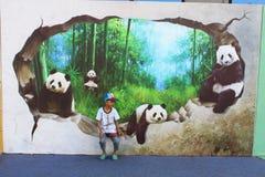 exposition de la photo 3D Image stock