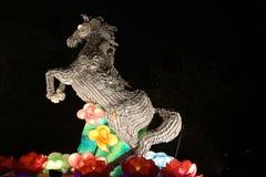 Exposition de lanterne à Chengdu, porcelaine Image libre de droits