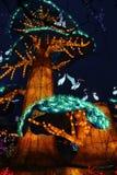 Exposition de lanterne à Zigong de Sichuan, porcelaine Image libre de droits