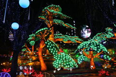 Exposition de lanterne à Zigong, porcelaine en 2014 Photo libre de droits