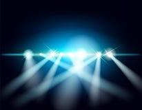Exposition de laser Images libres de droits