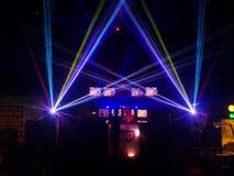 Exposition de laser Image libre de droits