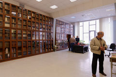 Exposition de livres rares Images stock