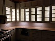 Exposition de lumière de Cabinet photographie stock libre de droits