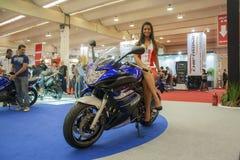 Exposition de moto 2012 - le Brésil - le São Paulo Photos stock