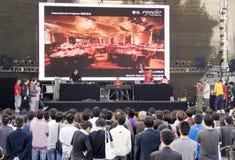 Exposition de musique de l'Allemagne en Chine Images stock