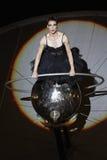 Exposition de Paraboles par la société de Cie Off pendant le B-FIT Fes Photos libres de droits