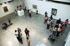Exposition de peinture des picas espagnols de Pablo de peintre Image libre de droits