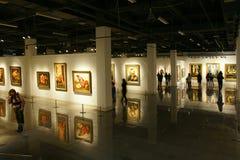 Exposition de peintures photo libre de droits