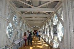 Exposition de pont de tour images libres de droits
