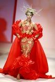 Exposition de robe de mariage Images stock
