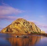 Exposition de roche de Morro - baie de Morro, CA Photographie stock