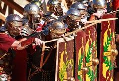 Exposition de Romains Photo libre de droits
