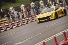 Exposition de route de Renault Bucarest Image stock