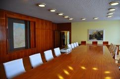 Exposition de salle de crise au musée de Stasi (Berlin) Image stock