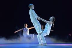 Exposition de théâtre de danse des enfants Image libre de droits