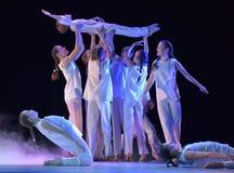 Exposition de théâtre de danse des enfants Photos libres de droits