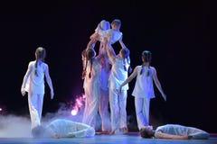 Exposition de théâtre de danse des enfants Photos stock