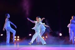 Exposition de théâtre de danse des enfants Photo libre de droits