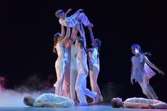 Exposition de théâtre de danse du ` s d'enfants Photos libres de droits