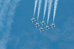 Exposition de Thunderbird Image libre de droits