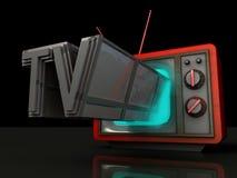 Exposition de TV Photos libres de droits