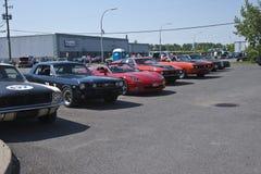 Exposition de véhicule Image stock